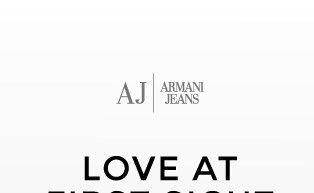 ARMANI JEANS - LOVE AT FIRST SIGHT