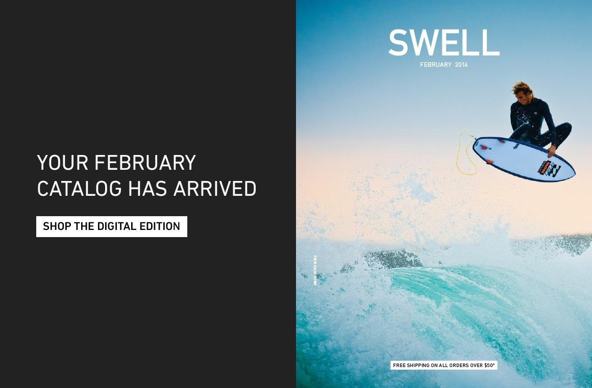 Your February Catalog Has Arrived