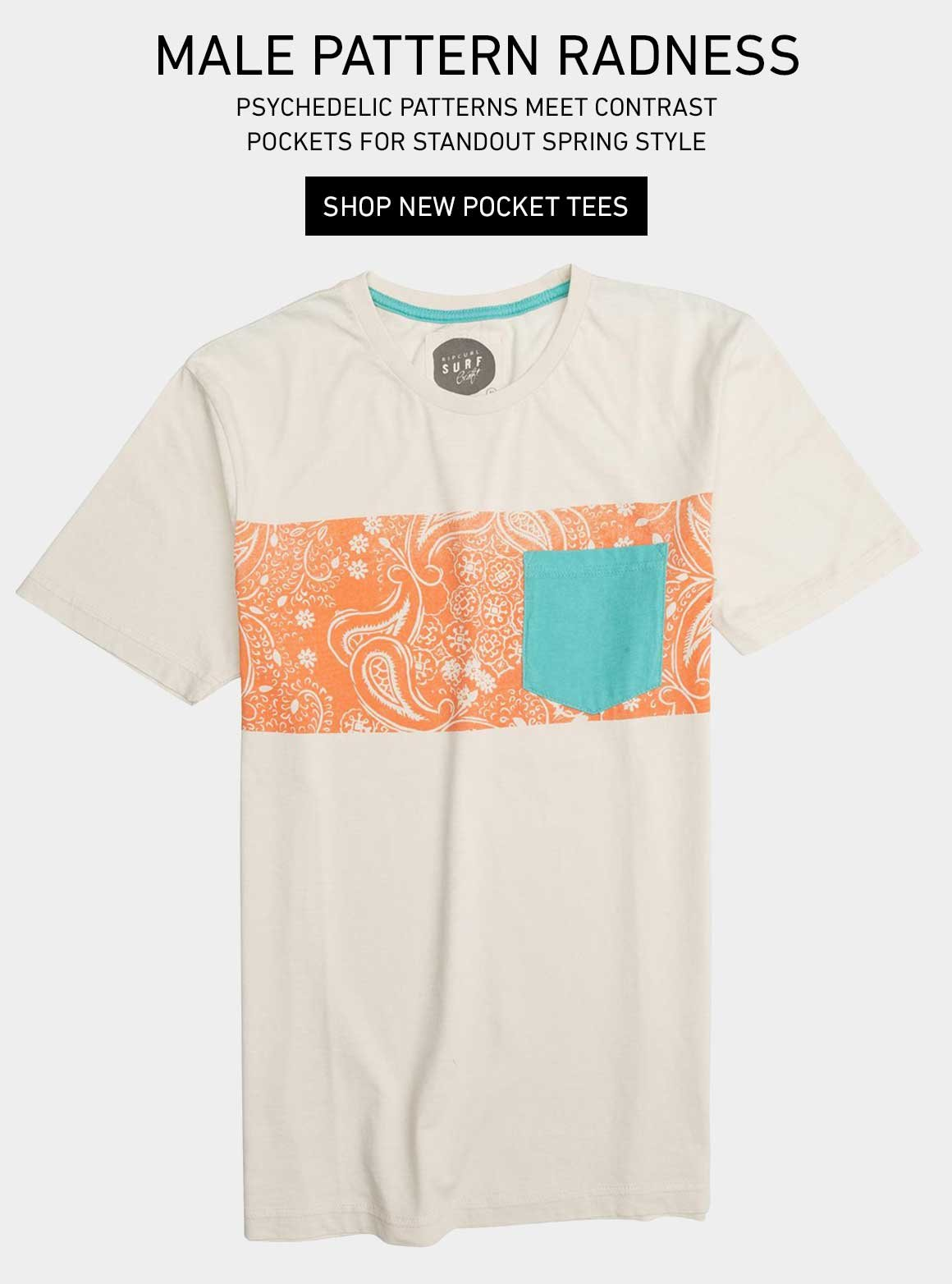 Male Pattern Radness - Shop New Pocket Tees