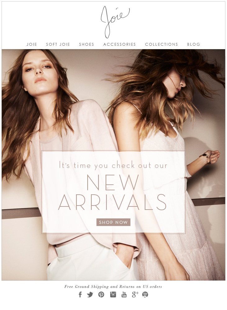 It's time you check out our NEW ARRIVALS SHOP NOW