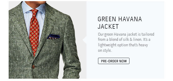 Green Havana Jacket
