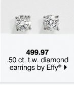 499.97 .50 ct. t.w. diamond earrings by Effy®