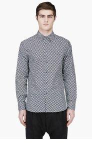 MARNI Black & White Patterned Shirt for men