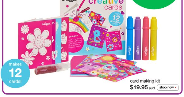 card making kit - $19.95aud - shop now