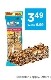 Kaytee Forti-Diet Guinea Pig Treats only $3.49