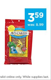 Lafeber's Original Avi-Cakes Bird Treats only $3.59