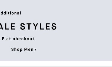 25% OFF SALE STYLES - Shop Men