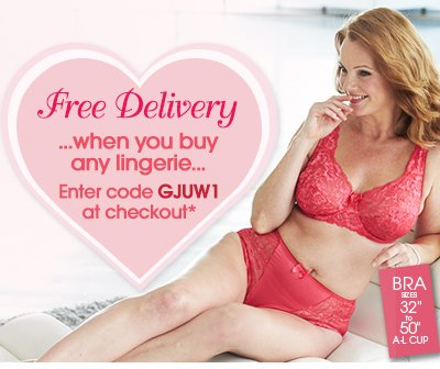 Free Delivery when you buy an lingerie