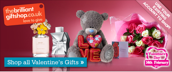 Brilliant Gifts Shop-Shop All Valentines Gifts