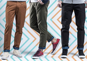 Shop Our Best Chinos & Cargos: ALL $49