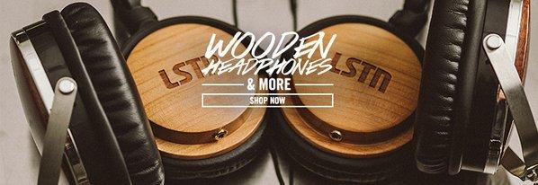 Shop LSTN Up: Wood Music Gear