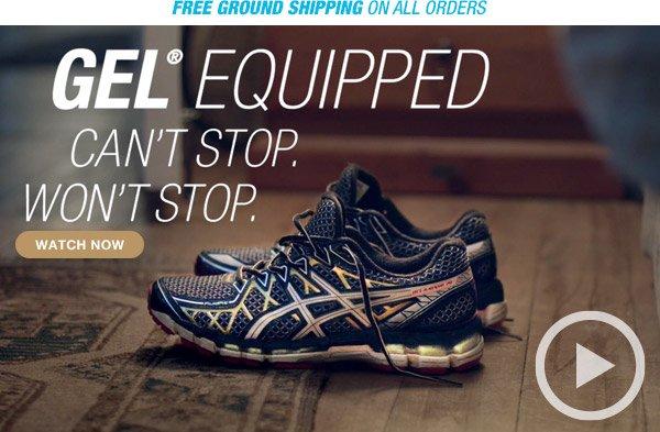 Watch the GEL-Equipped: Gotta Run
