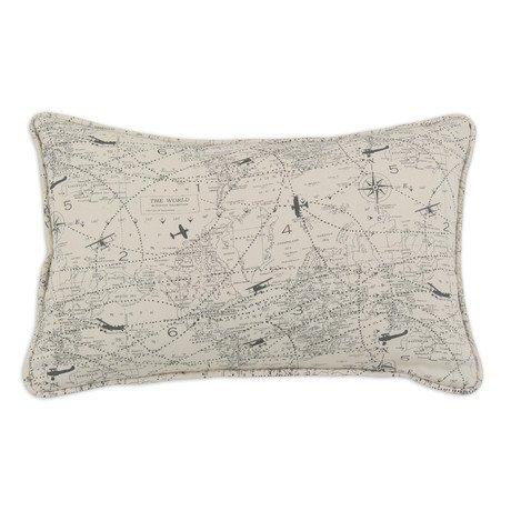 Air Traffic Corded Pillow