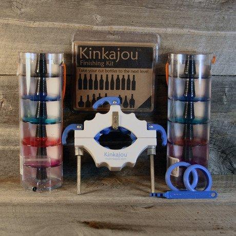 Bright White Kinkajou Bottle Cutter Bottle Cutting Kit