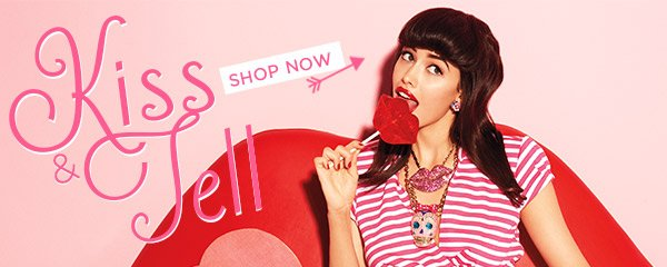 Kiss & Tell - Shop Jewelry