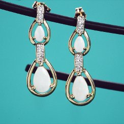 On Trend: Large Drop Earrings