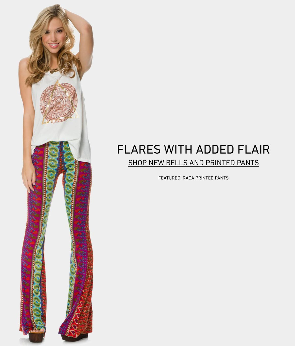 Flares with Flare: New Printed Pants