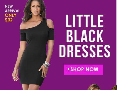 SHOP Little Black Dresses!