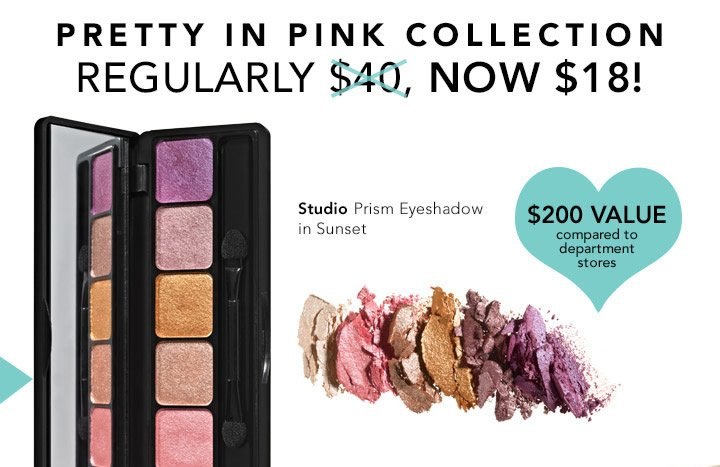 Pretty In Pink Collection Now $18!