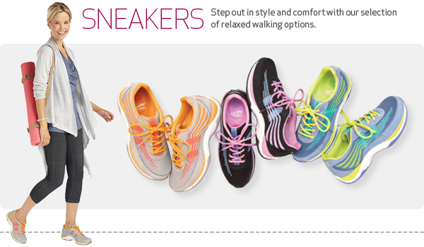 Sneakers - Step out in style and comfort with our selection of relaxed walking options.