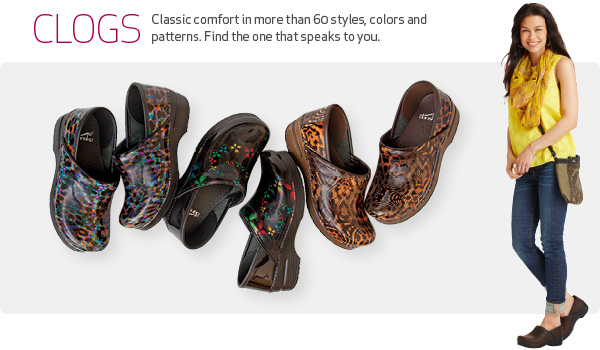 Clogs - Classic comfort in more than 60 styles, colors and patterns. Find the one that speaks to you.