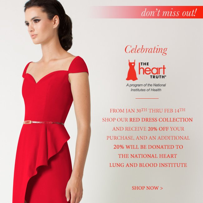 Don't Miss Out! Shop Our Red Dress Collection