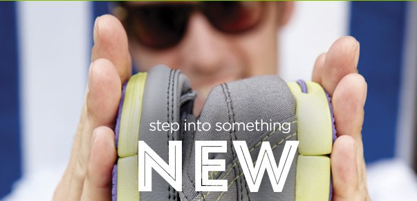 step into something new