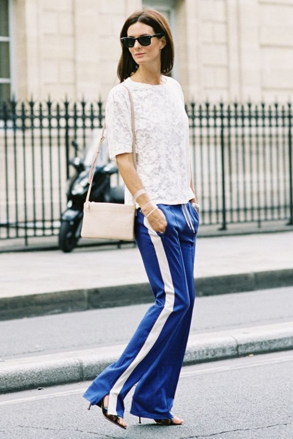 An Easy Way To Dress Up Track Pants