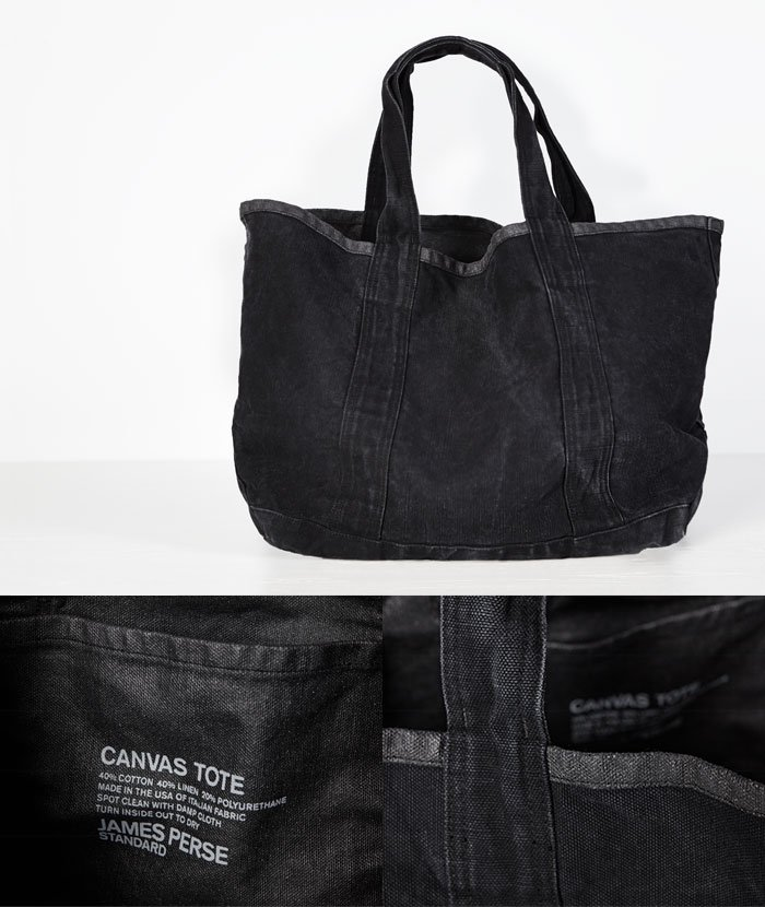JAMES PERSE LOS ANGELES - THE CANVAS TOTE