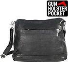 Xelement 'Bandit Queen' Womens Leather Bag with Gun Holster