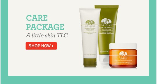 CARE PACKAGE A little skin TLC SHOP NOW