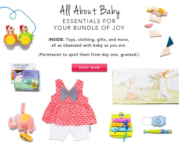 The Little Rue Clubhouse: All About Baby