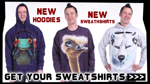 New Hoodies. New Sweatshirts. Get Your Sweatshirts Now!