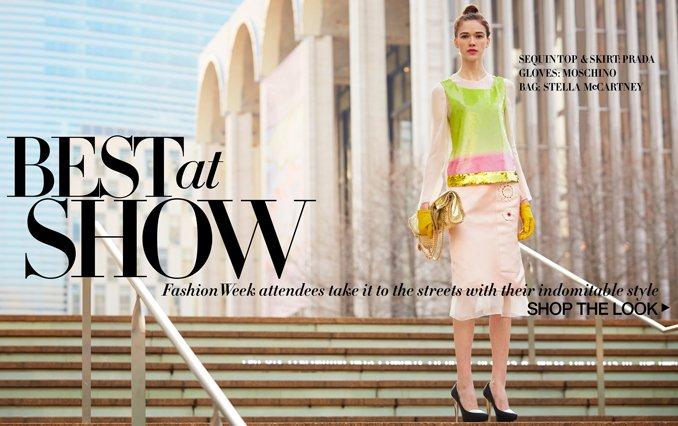 NY Fashion Week.