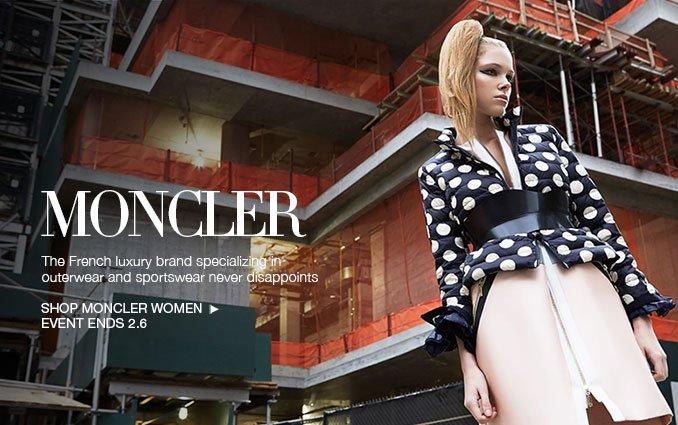 Shop Moncler - Ladies.