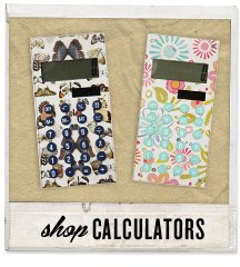 Add it all up with our mini me calculators