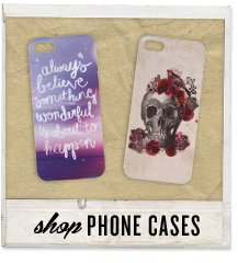 Phone it in with Typo Phone Cases