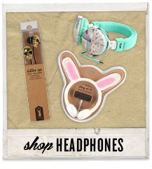 Tune out with our range of headphones