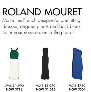 ROLAND MOURET. SHOP NOW