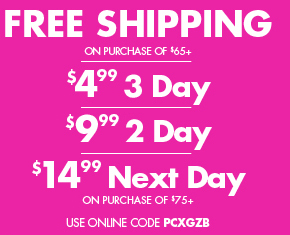 FREE SHIPPING WITH $65 PURCHASE