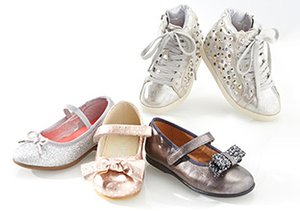Shine On: Metallic Kids' Shoes