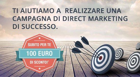 Ti aiutiamo a realizzare una campagna di direct markerketing di successo.