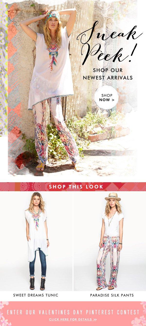 Sneak Peek! Shop Our Newest Arrivals