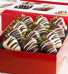 Fannie May® Decadent Chocolate Covered Strawberries Shop Now