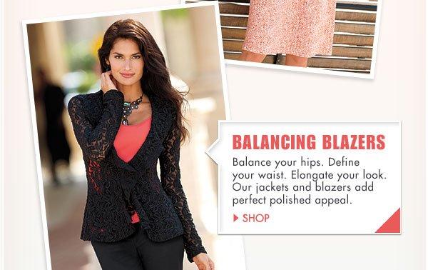 Shop Balancing Blazers