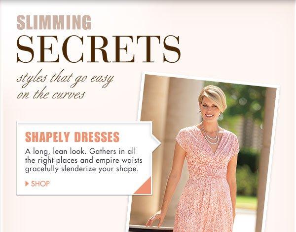 Slimming Secrets   Shop Shapely Dresses