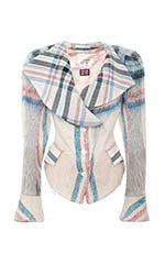 Vivienne Westwood White Plaid Jacket