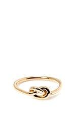 18K Rose Gold Love Knot Ring