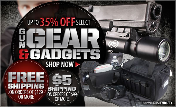 Big Discounts on Select Gun Gear and Gadgets!