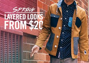Shop Layered Looks for Spring from $20